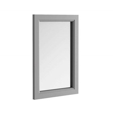 Butler & Rose Charlotte Mirror with Dovetail Grey Frame - 900 x 600mm
