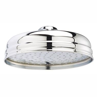Butler & Rose Victoria 195mm Traditional Fixed Apron Shower Head