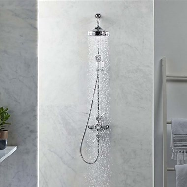 Roper Rhodes Henley Thermostatic Dual Function Exposed Shower System