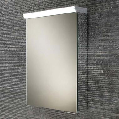 HIB Spectrum LED Illuminated Mirror Cabinet with Shaver Socket