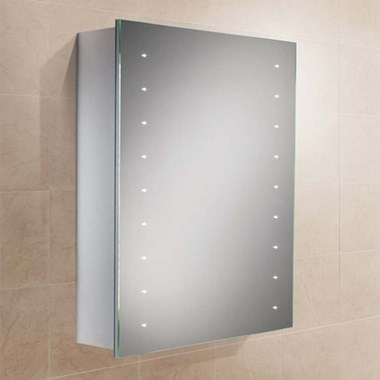 HiB Nimbus 50 LED Illuminated Mirror Cabinet - 700 x 500mm