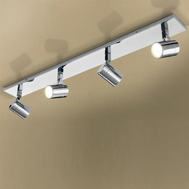 HIB Quartet Multi-AngLED Illuminated LED Illuminated Ceiling Spot Light