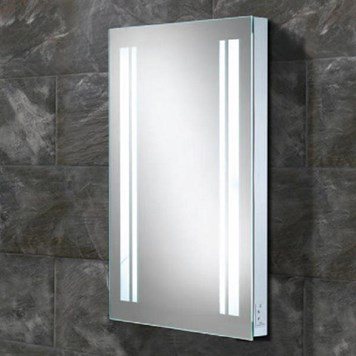 HIB Nexus Steam Free LED Illuminated Mirror with Shaver Socket