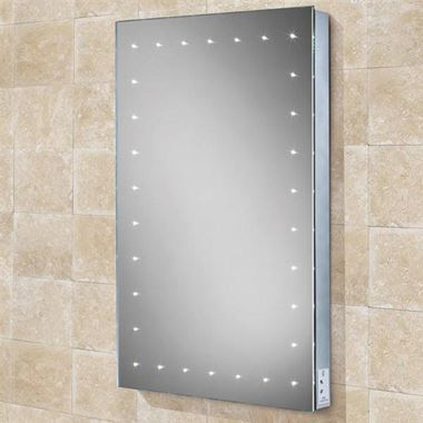 HIB Astral Steam Free LED Illuminated Mirror with Shaver Socket