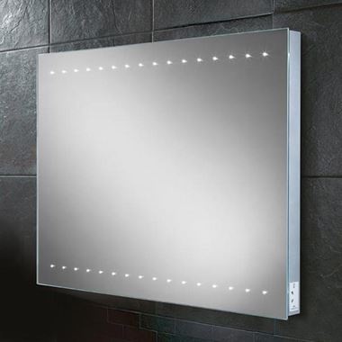 HIB Epic Steam Free LED Illuminated Mirror with Shaver Socket