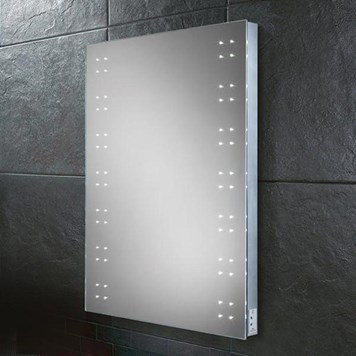 HIB Ariel Steam Free LED Illuminated Mirror with Shaver Socket
