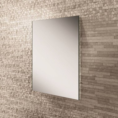 HiB Zircon 60 LED Illuminated Steam Free Mirror - 800 x 600mm