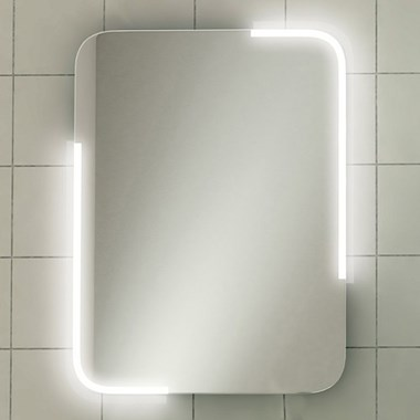HiB Orb LED Illuminated Steam Free Mirror