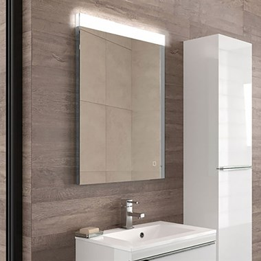 HIB Alpine 60 Steam Free LED Illuminated Mirror
