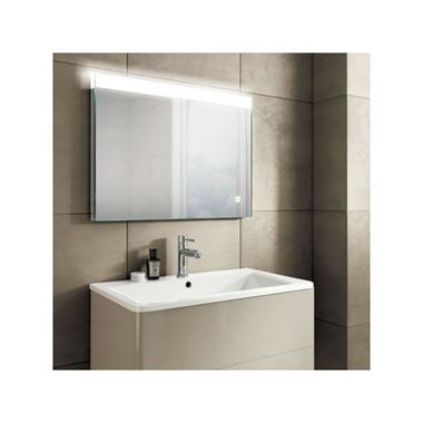 HIB Alpine 80 Steam Free LED Illuminated Mirror