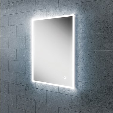 HIB Vega 50 Portrait LED Illuminated Ambient Mirror