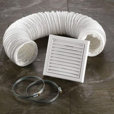 HIB Ceiling or Wall Fan Accessory Kit White