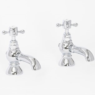 High Life Balmoral Pair Of Basin Pillar Taps