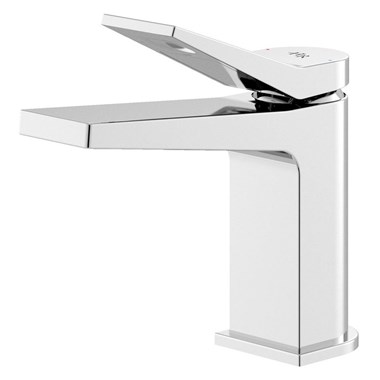 Hudson Reed Soar Square Basin Mixer Tap & Waste