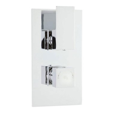 Hudson Reed Art Twin Concealed Thermostatic Shower Valve & Diverter