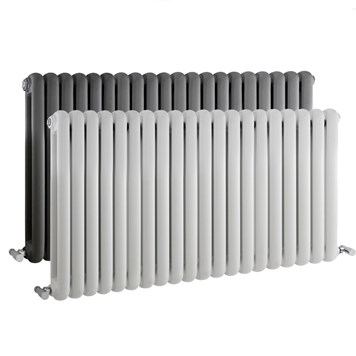 Hudson Reed Salvia Horizontal Double Panel Radiator  - 635 x 1223mm