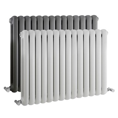 Hudson Reed Salvia Horizontal Double Panel Radiator  - 635 x 863mm