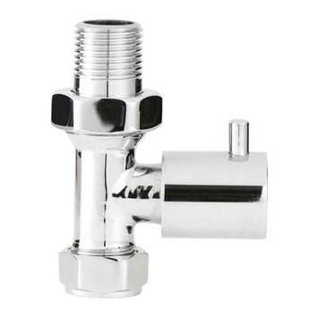 Ultra Minimalist Radiator Valves - Straight