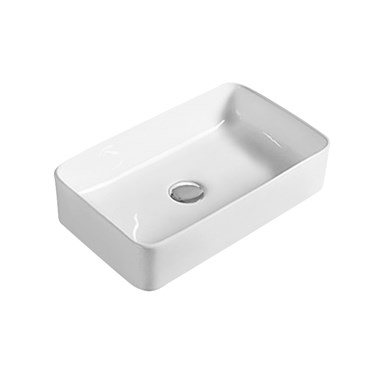 Hudson Reed 460mm Rectangular Countertop Basin