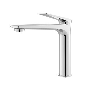 Hudson Reed Drift Round Tall Basin Mixer Tap & Waste