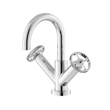 Hudson Reed Revolution Industrial Basin Mixer Tap & Waste