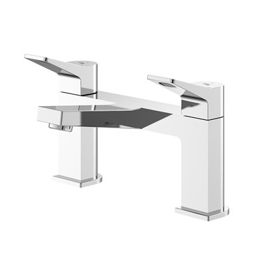 Hudson Reed Soar Square Deck Mounted Bath Filler Tap
