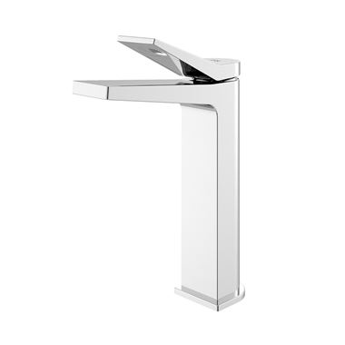 Hudson Reed Soar Square Tall Basin Mixer Tap & Waste