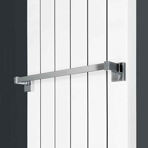Hudson Reed Magnetic Radiator Towel Rail - 450mm