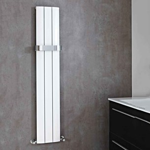 Phoenix Chrome Radiator Towel Rail - 300mm