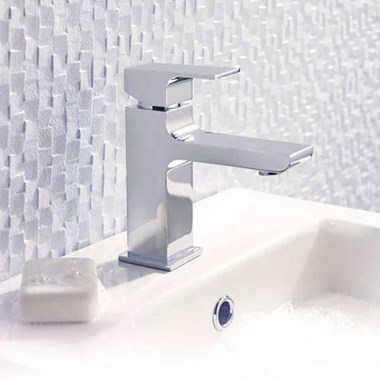 Hudson Reed Art Mono Basin Mixer with Clicker Waste
