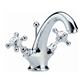 Hudson Reed Topaz Crosshead Mono Basin Mixer with Pop-Up Waste