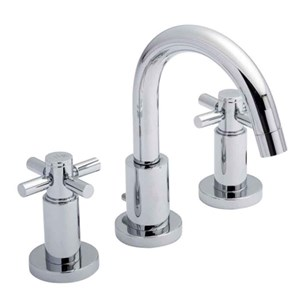 Hudson Reed Tec Crosshead 3 Hole Basin Mixer