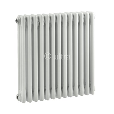 Ultra White Colosseum Triple Radiator 600mm x 606mm