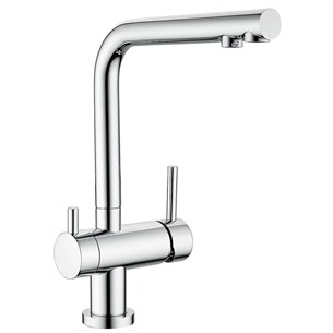 Clearwater Hydra Mono Kitchen Mixer and Cold Filtered Water Tap - Chrome