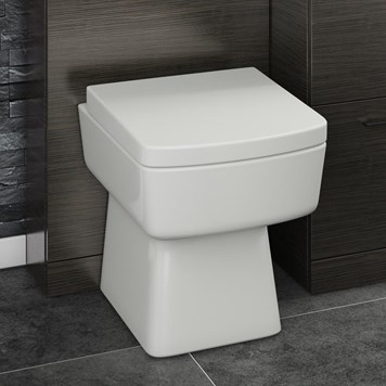 Ibis Square Back to Wall Toilet & Soft-Close Seat
