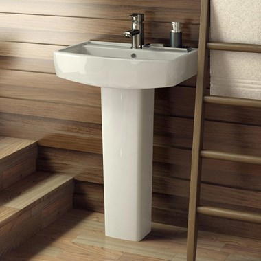 Ibis 520mm Basin & Full Pedestal