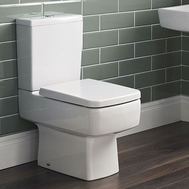 Ibis Compact Close Coupled Toilet & Soft Close Seat