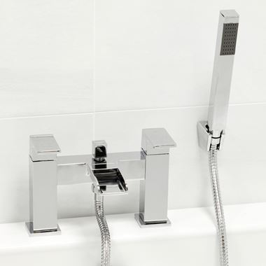 Vellamo Reve Waterfall Bath Shower Mixer Tap