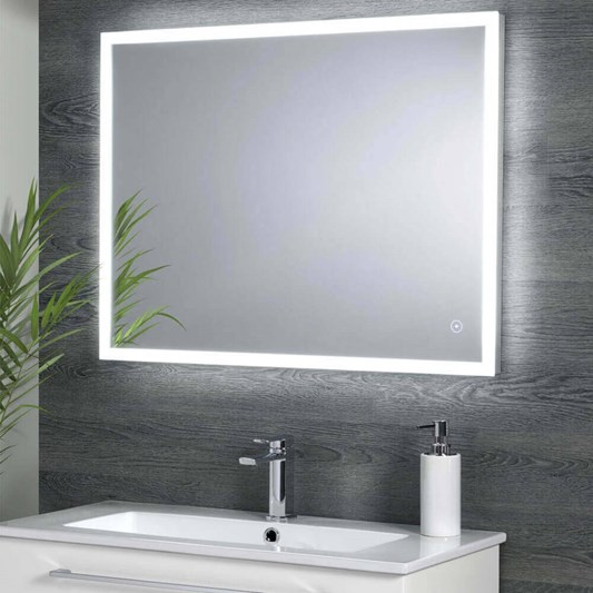 Harbour Glow Led Mirror With Demister Pad Amp Infrared Touch