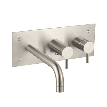 Inox Stainless Steel Wall Mounted Bath Shower Mixer
