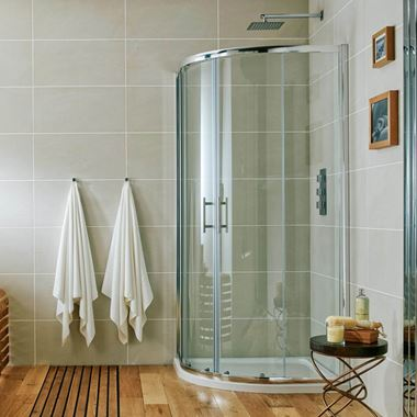 Harbour i6 1000 x 800mm Double Door Quadrant Shower Enclosure - 6mm Glass