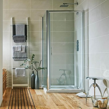 Harbour i6 Pivot Shower Door - 6mm Glass