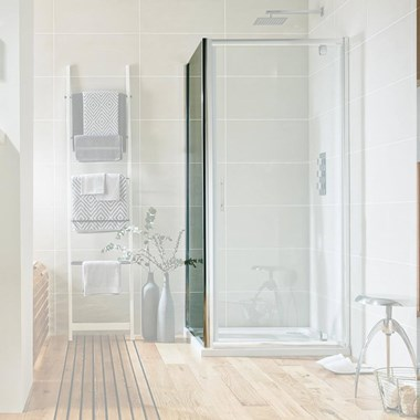 Harbour i6 Easy Clean 6mm Shower Side Panel