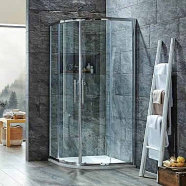 Harbour i8 Easy Clean 8mm 2-Door Quadrant Shower Enclosure