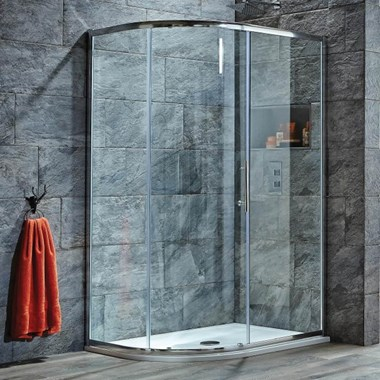 Harbour i8 Easy Clean 8mm 1-Door Quadrant Shower Enclosure