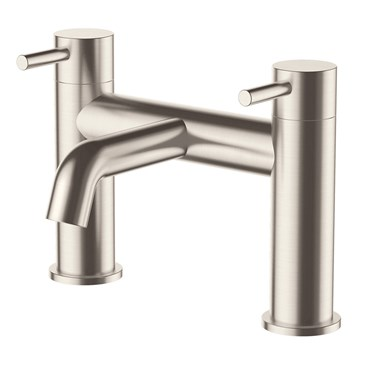 Inox Deck Mounted Bath Filler - Stainless Steel