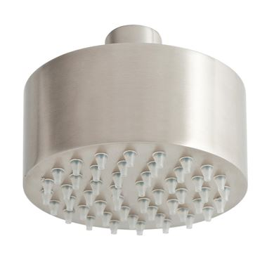 Inox Mini Overhead 89mm Shower Head - Stainless Steel