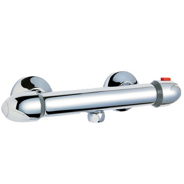 Finesse Thermostatic Bar Valve - Bottom Outlet