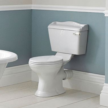 Junco Traditional Close-Coupled Toilet exc Seat