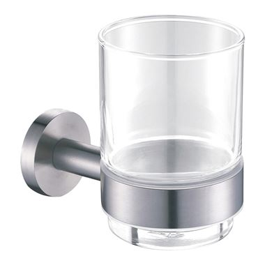 Just Taps Inox Wall Mounted Tumbler Holder